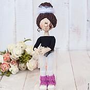 Куклы и игрушки ручной работы. Ярмарка Мастеров - ручная работа Маленькая балерина!!!. Handmade.