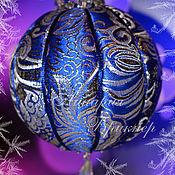 """Подарки к праздникам ручной работы. Ярмарка Мастеров - ручная работа Новогодний лоскутный шар """"Великолепный век"""". Кимекоми.. Handmade."""
