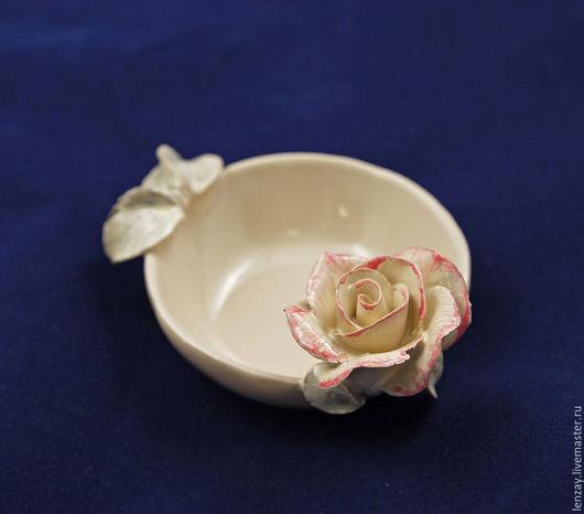 Розетки для варенья. Керамика и керамические цветы Елены Зайченко