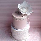 Свадебный салон ручной работы. Ярмарка Мастеров - ручная работа Свадебный подарочный набор Белый мак. Handmade.
