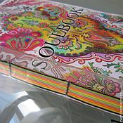 """Канцелярские товары ручной работы. Ярмарка Мастеров - ручная работа SOULBOOK """"ART"""" - авторский блокнот. Handmade."""