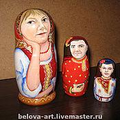 Куклы и игрушки ручной работы. Ярмарка Мастеров - ручная работа портретная матрешка. Handmade.