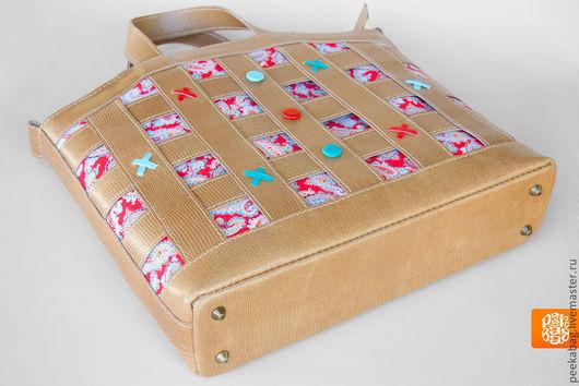 """Женские сумки ручной работы. Ярмарка Мастеров - ручная работа. Купить Сумка кожаная женская """"Fancy"""". Женская сумка из кожи, кожаная сумка. Handmade."""