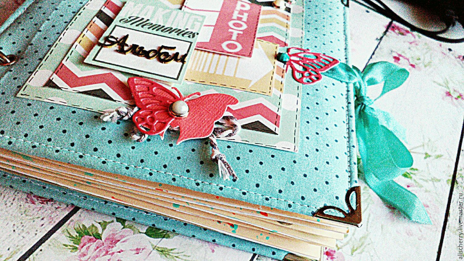 Scrapbook Album American Style Shop Online On Livemaster With
