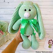 Мягкие игрушки ручной работы. Ярмарка Мастеров - ручная работа Плюшевый заяц. Handmade.