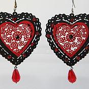 handmade. Livemaster - original item Earrings Gipsy romance author`s decoration in the Spanish style. Handmade.