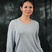"Одежда handmade. Livemaster - original item Knitted jumper ""Weightless 2"". Handmade."