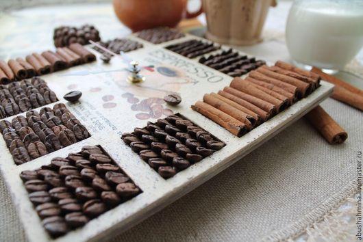 часы настенные эспрессо\r\nкофе, зерна кофе, корица\r\nподарок для мужчины,для женщины,\r\nдля кофемана\r\nчасы с кофейными зернами, беж, ,пряности