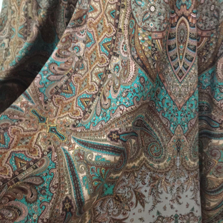 Чистошерстяная юбка и шаль комплект, Юбки, Санкт-Петербург, Фото №1