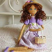 Текстильная кукла Виолетта БРОНЬ
