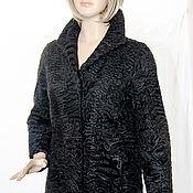 Одежда ручной работы. Ярмарка Мастеров - ручная работа Полушубок Свакара черная красавица тепло Африки в холодных краях. Handmade.