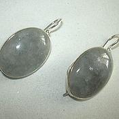 Украшения handmade. Livemaster - original item Elegant earrings SMOKY QUARTZ925 sterling silver.. Handmade.