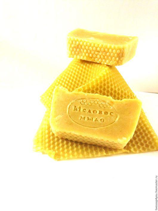 """Мыло ручной работы. Ярмарка Мастеров - ручная работа. Купить Мыло ручной работы """"Медовая прелесть"""". Handmade. Желтый"""