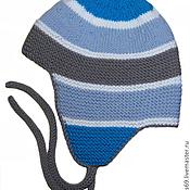 Работы для детей, ручной работы. Ярмарка Мастеров - ручная работа Зимняя шапочка для малышей. Handmade.
