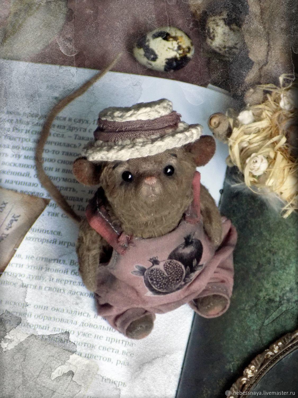 Mr. Gardenias, mouse, rat, Teddy, Stuffed Toys, Tyumen,  Фото №1
