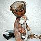 Мишки Тедди ручной работы. Заказать Миш тедди Людовик - (купить тедди, мятный, серый). ЛуКс:)) Кукольное счастье! (Ксения). Ярмарка Мастеров.