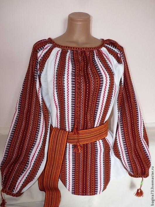 Блузки ручной работы. Ярмарка Мастеров - ручная работа. Купить Тканые блузки. Handmade. Разноцветный, тканая сорочка, вышиванка женская