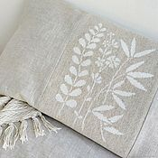 Для дома и интерьера handmade. Livemaster - original item Decorative pillowcase for pillows