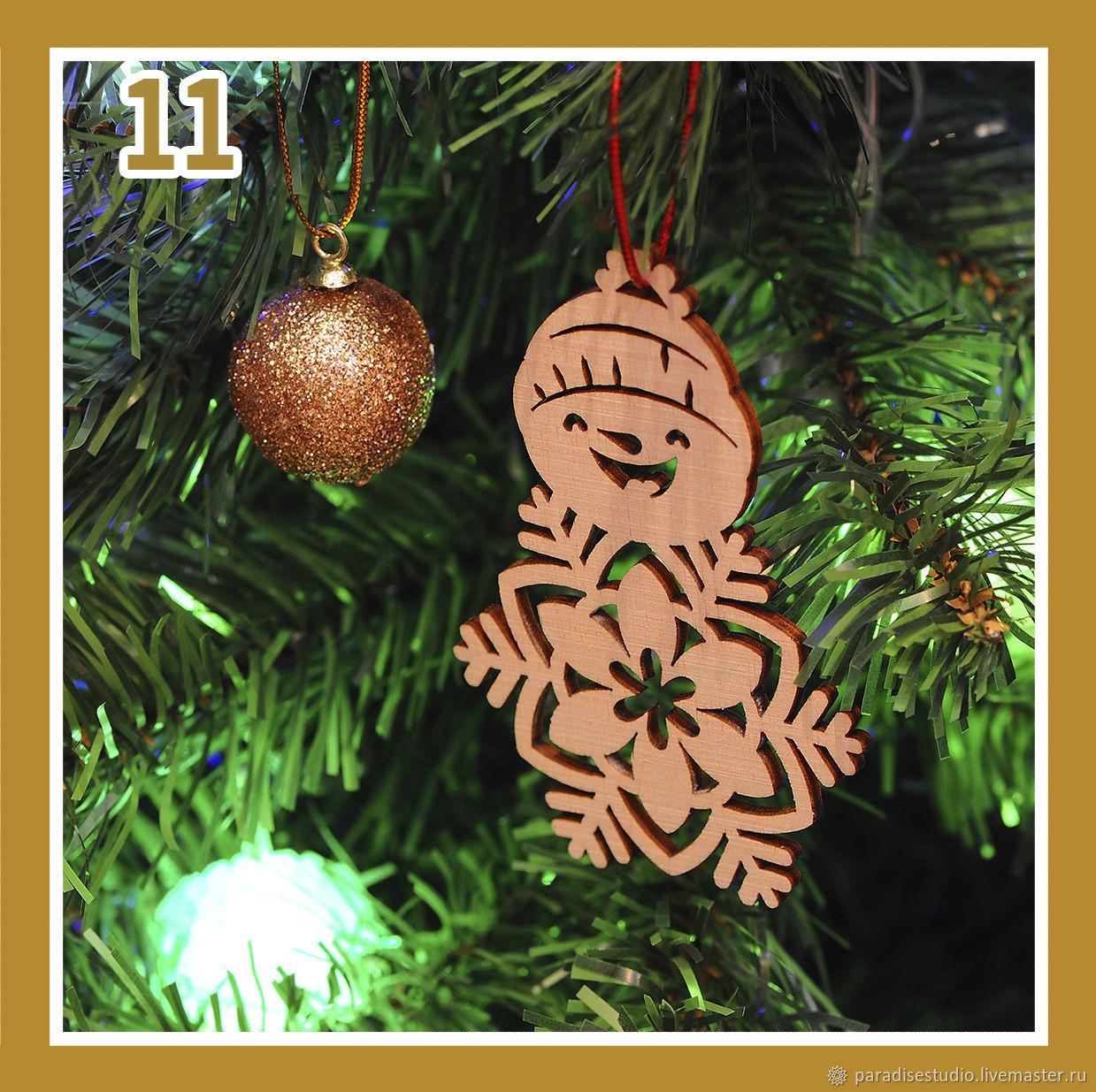 Christmas decorations 'the Snowmen', Christmas decorations, Kotlas,  Фото №1