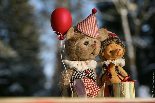 Мишки Тедди ручной работы. Ярмарка Мастеров - ручная работа. Купить Тусик и Кукусик. Handmade. Серый, шерсть, шерсть