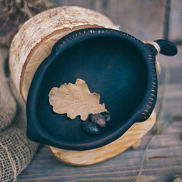 Посуда ручной работы. Ярмарка Мастеров - ручная работа Тарелки: Плошка Жёлудь. Handmade.