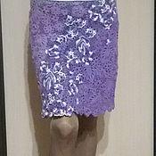 Одежда ручной работы. Ярмарка Мастеров - ручная работа юбка ирландским кружевом. Handmade.