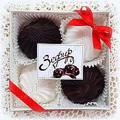 Косметика ручной работы. Ярмарка Мастеров - ручная работа Зефир шоколадный мыло в подарок. Handmade.