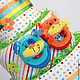 """Подарки для новорожденных, ручной работы. Подарок новорожденному Бэби-торт """"Котёнок и щенок"""". Baby-tort. Интернет-магазин Ярмарка Мастеров."""