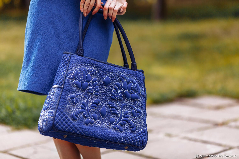 Quilted bag Magic Night, Classic Bag, Vladimir,  Фото №1