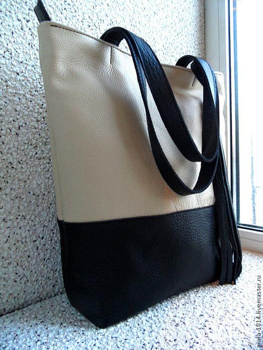 Женские сумки ручной работы. Ярмарка Мастеров - ручная работа. Купить МУ. Handmade. Чёрно-белый, сумка ручной работы