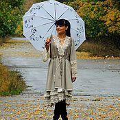 Одежда ручной работы. Ярмарка Мастеров - ручная работа Платье осеннее в стиле БОХО (№111). Handmade.