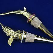 Сувениры и подарки handmade. Livemaster - original item Set of decorative stoppers