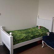 Для дома и интерьера ручной работы. Ярмарка Мастеров - ручная работа Деревянная кровать (001). Handmade.