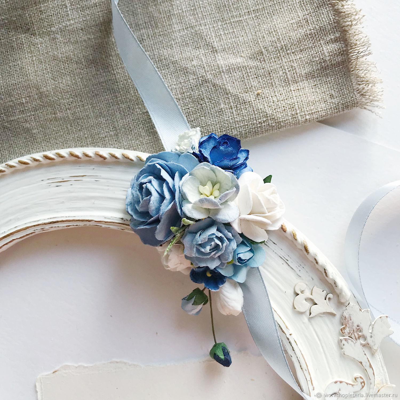 Браслеты для подружек невесты в голубой палитре, Браслеты, Санкт-Петербург,  Фото №1