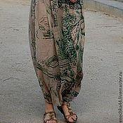 """Одежда ручной работы. Ярмарка Мастеров - ручная работа Юбка-брюки """"Беседка"""". Handmade."""