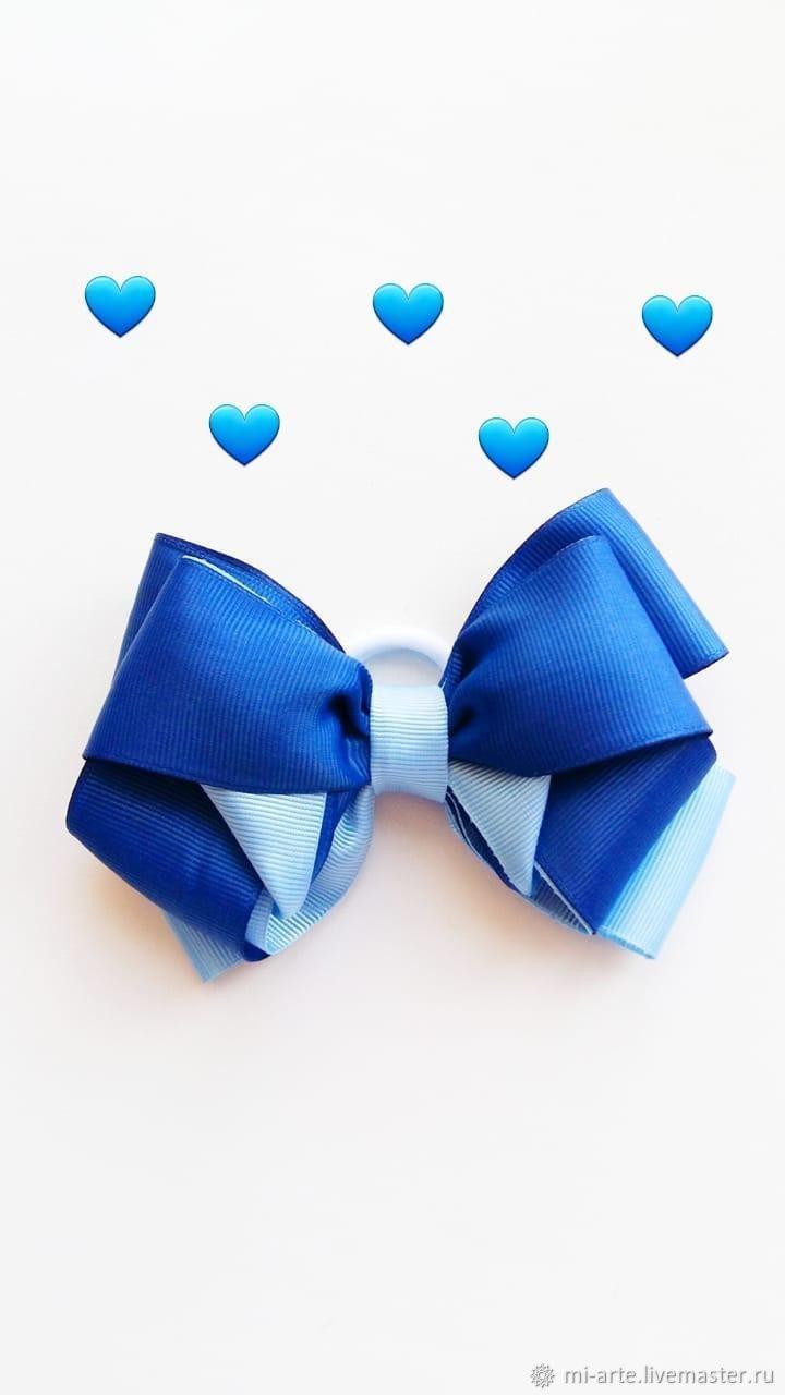 Синий бантик, Украшения, Тюмень, Фото №1