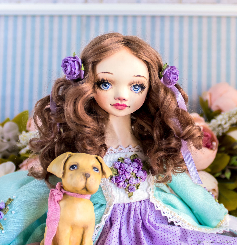 Пенелопа авторская интерьерная кукла, Куклы, Нижний Новгород, Фото №1