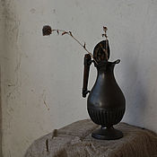 Посуда ручной работы. Ярмарка Мастеров - ручная работа Металлический кувшин. Handmade.