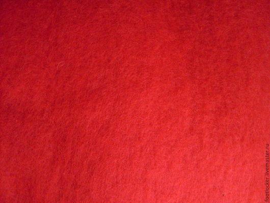 Валяние ручной работы. Ярмарка Мастеров - ручная работа. Купить Шерсть для валяния кардочес, 27 мкр, Red. Handmade.