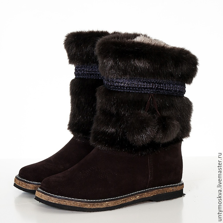 e230c38b7b1f Обувь ручной работы. Ярмарка Мастеров - ручная работа. Купить Унты женские  уж3 ( войлочная ...