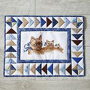 """Картины и панно ручной работы. Ярмарка Мастеров - ручная работа Панно """"3 котика"""". Handmade."""