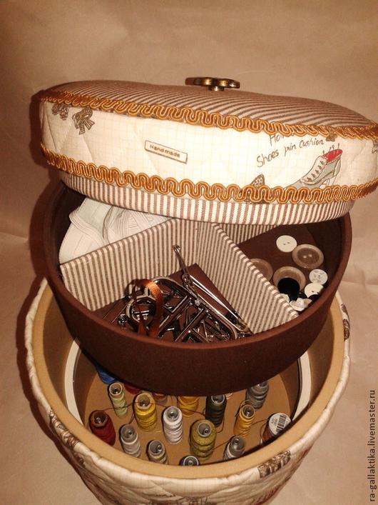 """Шкатулки ручной работы. Ярмарка Мастеров - ручная работа. Купить Шкатулка для рукоделия """"Ретро"""". Handmade. Шкатулка для рукоделия, шкатулка для шитья"""