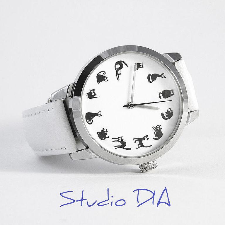 Купить наручные часы с кошками купить часы мужские fortis