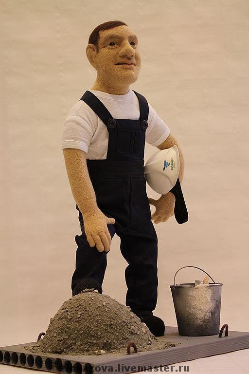 Портретные куклы ручной работы. Ярмарка Мастеров - ручная работа. Купить скульптура из шерсти по фотографии. Handmade. Скульптура из шерсти, алебастр
