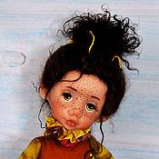 Куклы и игрушки ручной работы. Ярмарка Мастеров - ручная работа Пчёлка Зое - исполнительница желаний. Handmade.