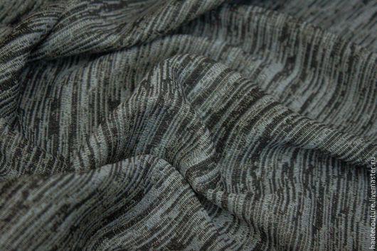 Шитье ручной работы. Ярмарка Мастеров - ручная работа. Купить Шерсть костюмно-плательная!. Handmade. Серый, ткани для шитья, юбка