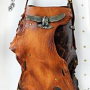 Сумки и аксессуары ручной работы. Ярмарка Мастеров - ручная работа Сумка из натуральной кожи с винтажной пряжкой. Handmade.