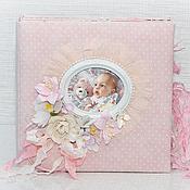 Фотоальбомы ручной работы. Ярмарка Мастеров - ручная работа Нежный альбомчик для юной принцессы. Handmade.