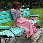 """Одежда ручной работы. Ярмарка Мастеров - ручная работа Юбка и блузка """"Розовая дымка"""". Handmade."""