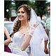 Митенки для невесты Жемчужные